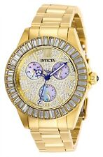 Invicta Women's Angel 28449 38mm Charcoal Dial Stainless Steel Watch