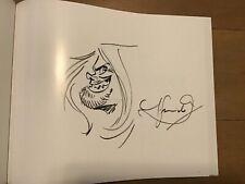 Juanjo Guarnido Freaky project Blacksad signed with original sketch dedicace HC