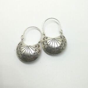 Fine Sterling Silver 925 Earrings Huggie Style Womens Purse Fashion Jewelry 2018