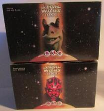 Star Wars Happy Meal Toys x 2 pcs Joking Jar Jar Binks, Dart Maul - New Other