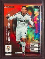 2012-13 Panini WCCF World Class SS Cristiano Ronaldo rare Madrid refractor card