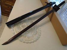 """Shinwa Red Damascus Black Knight Ninja Katana Sword Knife Full Tang 40"""" KZ747DZ"""