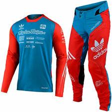 2020 Troy Lee Designs Tld Se Ultra Adidas Océano Flo Naranja carrera Kit Traje Nuevo MX