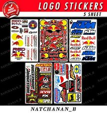 Pegatina Red Bull Motocross Bike Car Moto Racing Graphic Sticker Decal Vinyl