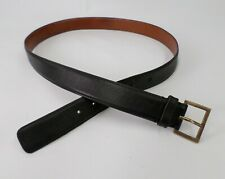Coach Harness Leather Belt Eddie Bauer 8301 Black 44 Vtg