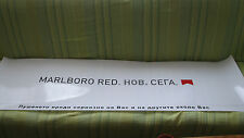 Marlboro Red New Now sign advertising cigarettes 1590x475mm used rare