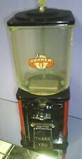 VINTAGE Victor Topper hard to find globe 1 Cent Nuts / Candy Machine 1950's