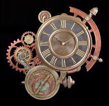 Astronomische Steampunk Wanduhr - Veronese Deko Uhr Wand