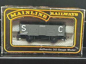 MAINLINE OO 937391 GWR 20T STEEL MINERAL WAGON STEVENSON CLARKE (SC) 25503 BOXED