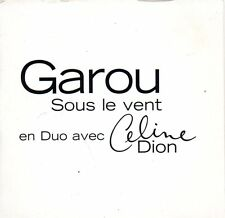 GAROU & Céline DION	Sous le vent Promo 1-track CARD SLEEVE	CD SINGLE	Columbia ‎