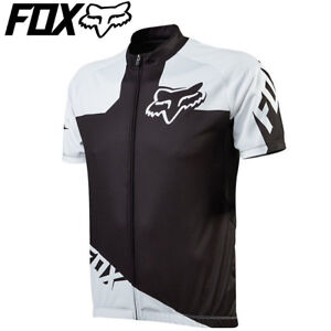 Fox Livewire Race Cycling Jersey - Black White - Sizes M L