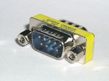 Gender Changer M / M     Stecker / Stecker   9 polig  male / male  SUB-D Adapter