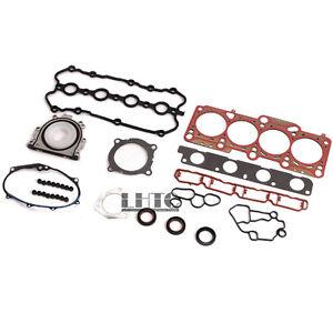 Engine Gasket Oil Seals Kit For VW GLI GTI R Passat AUDI A3 A4 2.0 TFSI BPY BPG