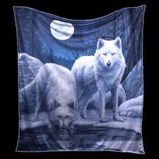 Câlin Couverture avec Loups - Warriors of Winter Lisa Parker - FANTASIE loup