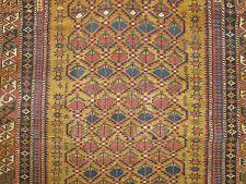 Antique Caucasian Shirvan Kazak Kuba Rug Size 3'9''x4'3''