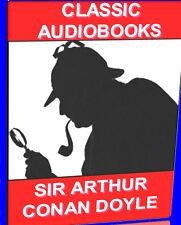 SIR ARTHUR CONAN DOYLE 9 CLASSIC MP3 AUDIOBOOK NOVELS SHERLOCK HOLMES  NEW PCDVD