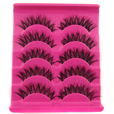 Sale! EA20 5 pairs Natural Messy Cross BEAUTY False eyelashes Wholesale & Retail