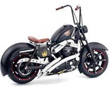 Handmade 31CM Antique Harley Motorcycle Tin Metal Reproduction Bike Model
