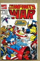 Infinity War #2-1992 nm- 9.2 Avengers Jim Starlin Thanos Giant-Size