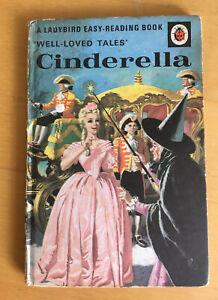 Vintage Ladybird 'Well Loved Tales' Cinderella Book Series 606D 24p Net.