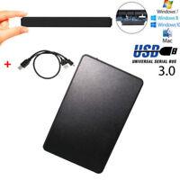 """External Backup Hard Drive Case 1TB USB 3.0 Enclosure 2.5"""" Portable HDD Sata SSD"""