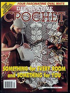 DECORATIVE CROCHET Magazine No. 82 • July 2001 • Good Condition