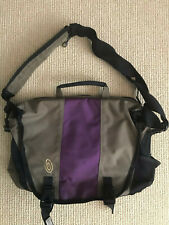 Timbuk2 Messenger Crossbody Bag Ballistic Purple Gray Laptop Briefbag Carry On