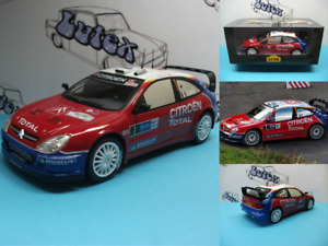 Rally car Citroën Xsara WRC  Sébastien  Loeb Germany Rally 2005  Ixo/Altaya 1:18