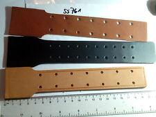 Koppelschloss Feldbinde Lederlaschen neu 3 Stück (ss761)