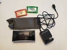 Gameboy Micro With Charger, Pokemon Firered, And Emerald