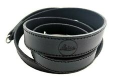 Genuine Leica Q, Q2, CL, X Black Leather Carrying Strap