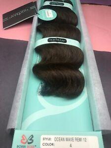 """IndiRemi® Virgin Remi Hair Weave_OCEAN_WAVE_WEAVING_12""""_#4"""