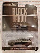 GREENLIGHT BLACK BANDIT 2000 NISSAN SKYLINE GT-R R34