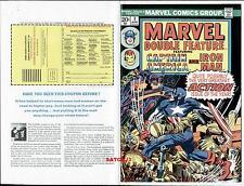 JACK KIRBY CAPTAIN AMERICA 1974 MARVEL DF #3 ORIGINAL PRODUCTION ART COVER PROOF