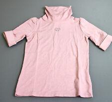 Neu Authentisch Gucci Kinder Mädchen Kaschmir/Modal Rollkragen T-Shirt Top, 3