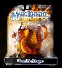 Wizkids Mage Knight Clix 3 Dragon Set Light + Fire + Shadow +Bonus Figure