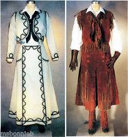 Sewing Pattern Cowgirl Split Skirt Jacket Vest Legging Laughing Moon 108 Western