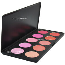 (Saturated : 9 Matte + 1 Shimmer) - 10 Color Blush Makeup Palette #613