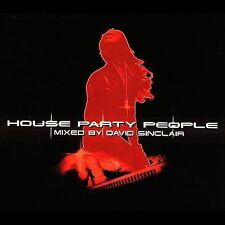 New: David Sinclair: House Party People  Audio CD