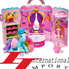NEUF BARBIE princesse POUPEE bebe PETIT PONEY jouet fille chateau de maison