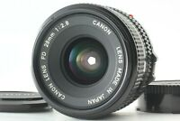 FedEx [Near Mint] Canon NEW FD NFD 28mm f/2.8 f2.8 Wide Angle MF Lens from Japan