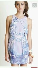NWTS Wish Chimera Dress.Sz8.Silk cotton blend.Fully lined.Very flattering