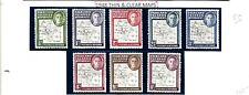 FALKLAND ISLES (L85) 1945 THIN & CLEAR SGG9-16 VERY FINE SET OF 8 MM/MH