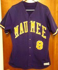 MAUMEE High School lrg softball jersey Panthers size 44 custom embroidery Ohio 8