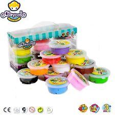 12 Colors Box Super Light Air Dry Clay