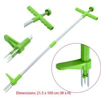 Weed Puller Weeder Twister Twist Pull Garden Lawn Root Killer Remover Tool