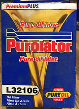 Purolator L32106 Oil Filter set of 4 BMW 3.0Si 530i Bavaria