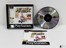 PLAYSTATION ps1 gioco-PUZZNIC-completamente in scatola originale