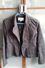 veste Liberto grise à fines rayures