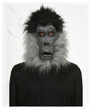 NEW Adult Halloween/Cosplay Full Face Hair/Hairy Gorilla Latex Mask~Scary/Creepy